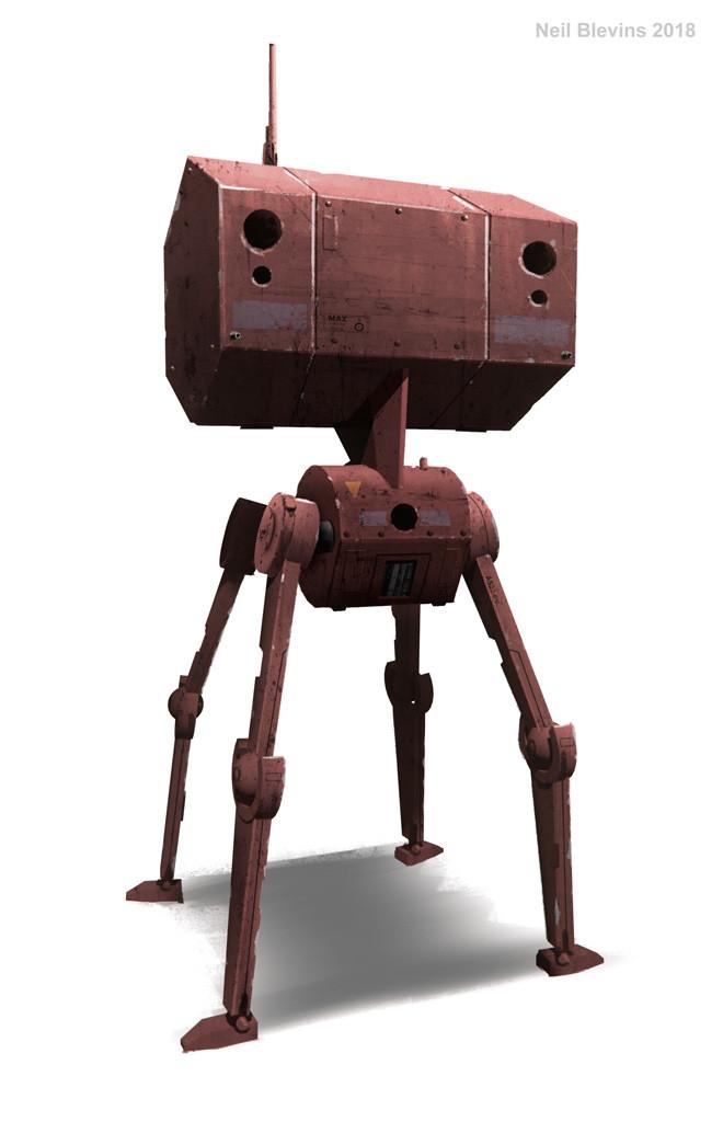 Spider Walker Robot 6 by ArtOfSoulburn