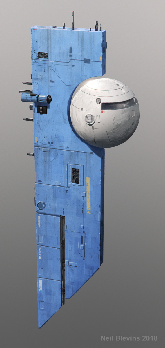 Heart Of The Giant Crew Pod 1 by ArtOfSoulburn