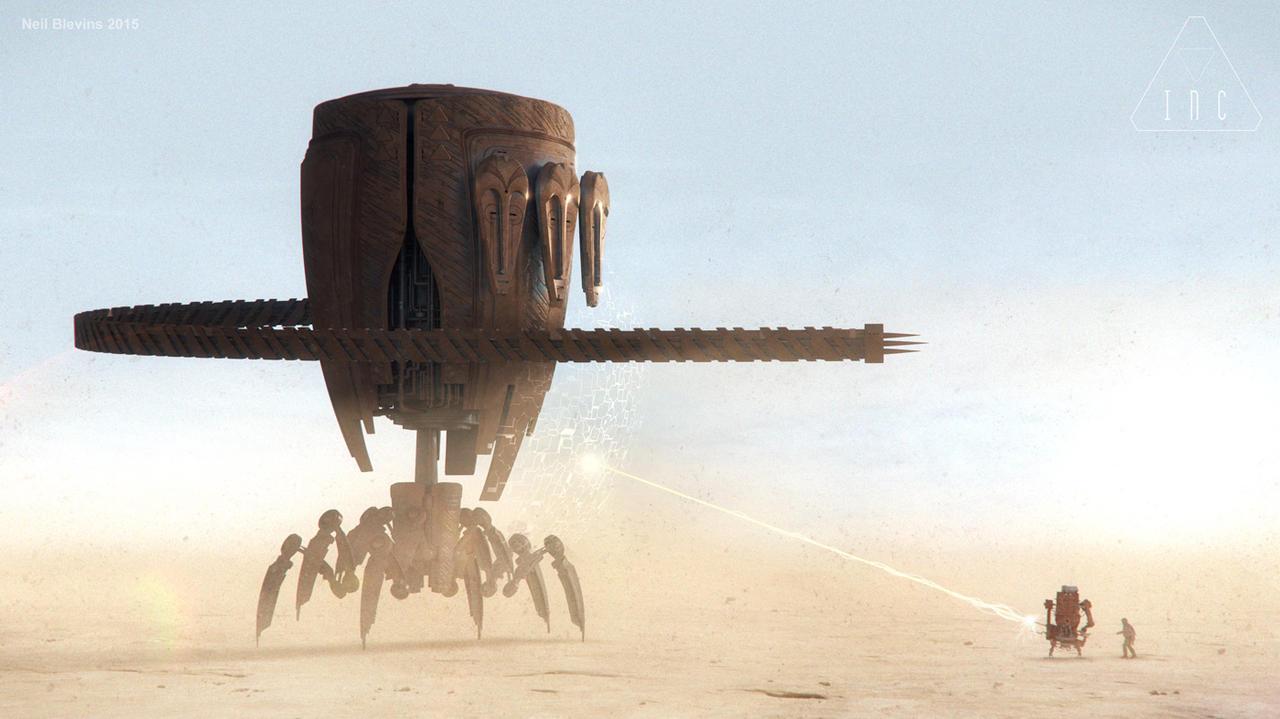 Inc God Robot 2 Final Battle 1 B by ArtOfSoulburn