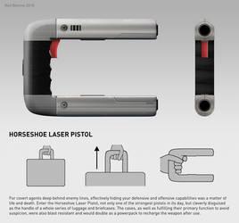Horseshoe Laser Pistol