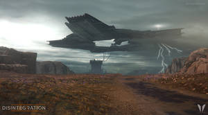 Disintegration Iron Cloud In The Desert 1