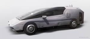 Futuristic Car 5
