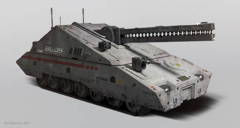 Futuristic Tank 3