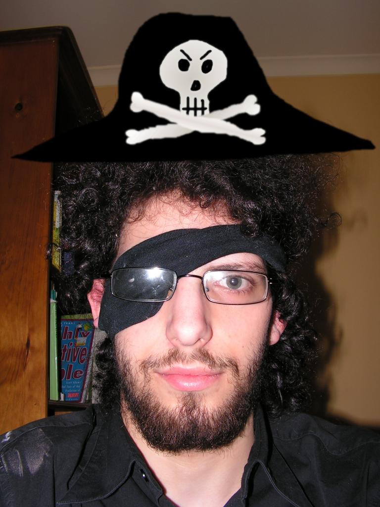 Pirate: Yarr by man-in-shack