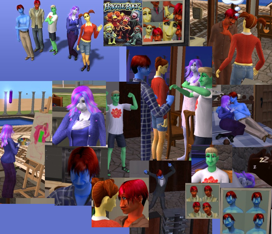 Fraggle Rock Sims by AlicornMoonstar