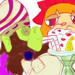 Tablet Tumblrness 5: Two Straws by AlicornMoonstar