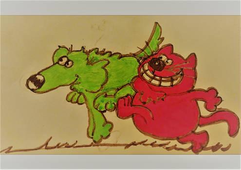 Roobarb - Inktober #1
