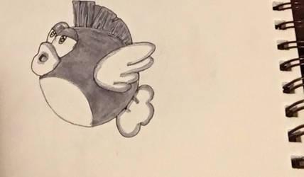 Fly Fishing-Inktober #12