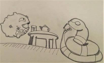 No Evil Pokemon-Inktober #13