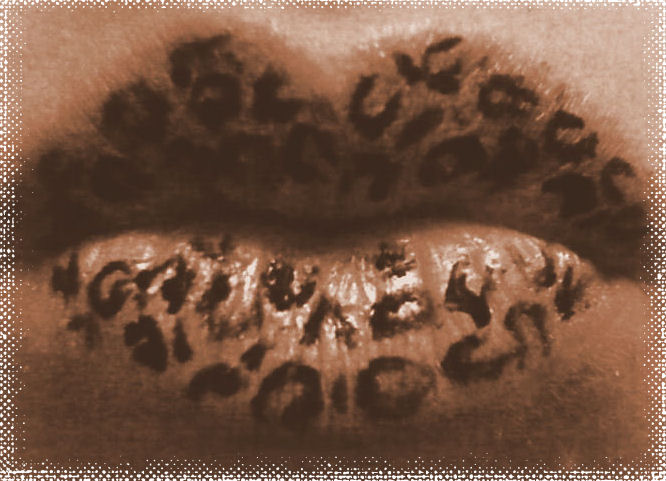 1000  images about Animal Print Lips on Pinterest | Airbrush ...