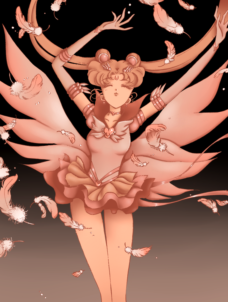 [MMA]Saturn's Art-ening Updated: August 11th - Page 5 Eternal____sailor_moon_manga_panel_coloring_by_leyrose-d77oqob
