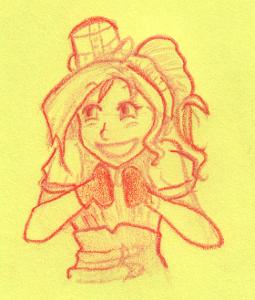 Gleeful Steampunky Ruby by LeyRose