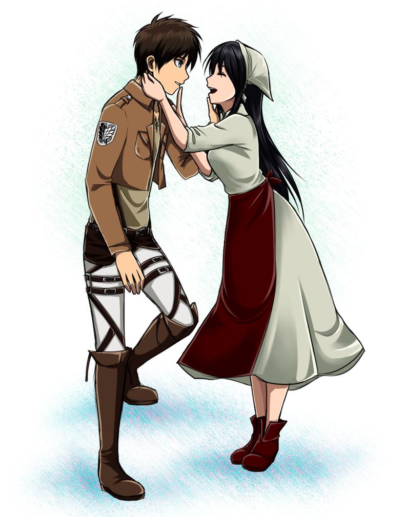 Anime Characters Sister Reader : Eren veena by vhenyfire on deviantart