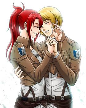 Kassandra x Armin ][COMMISSION][