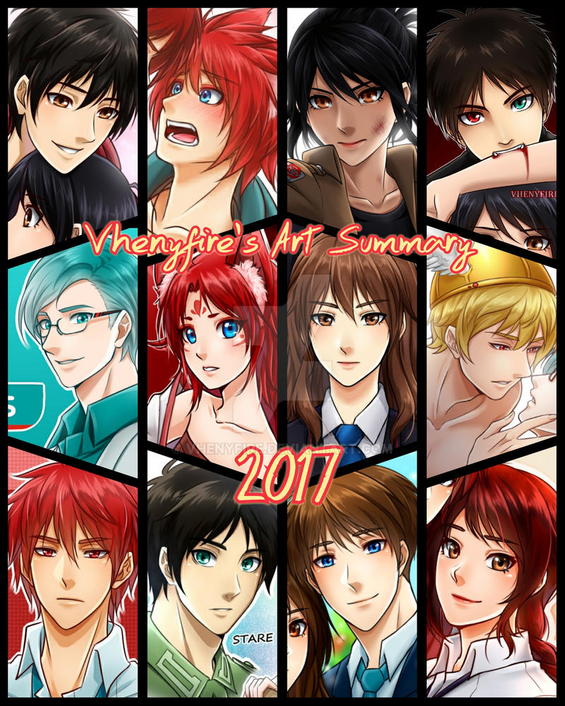 Art Summary 2017 by Vhenyfire