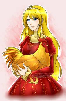 Princess Brigitta x Ross