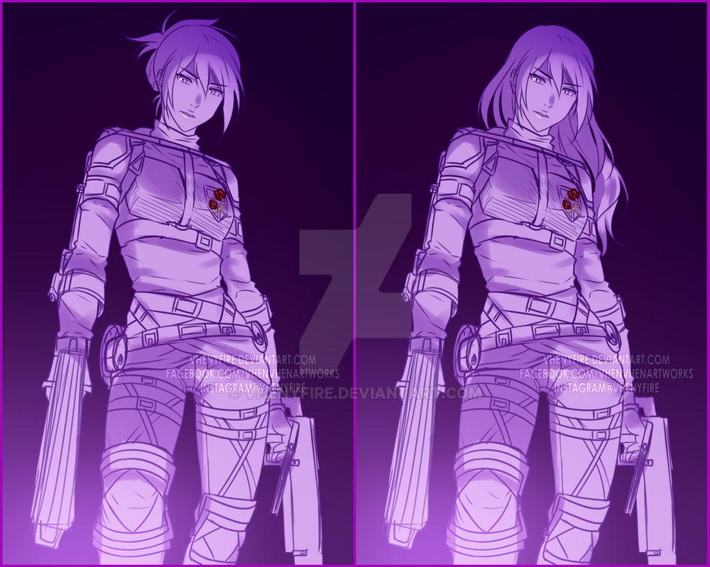 Veena with Another Battle Gear by Vhenyfire