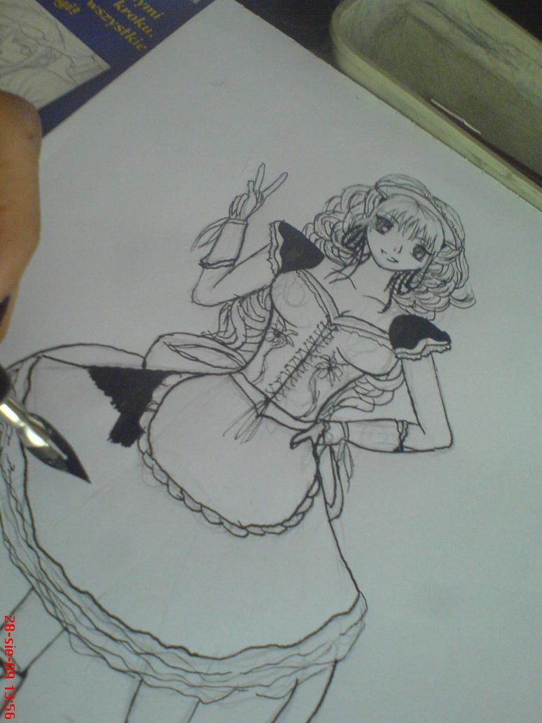 Work in progress by rokusanchan