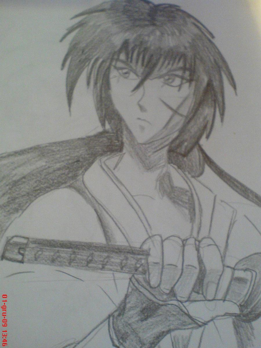 Himura Kenshin by rokusanchan