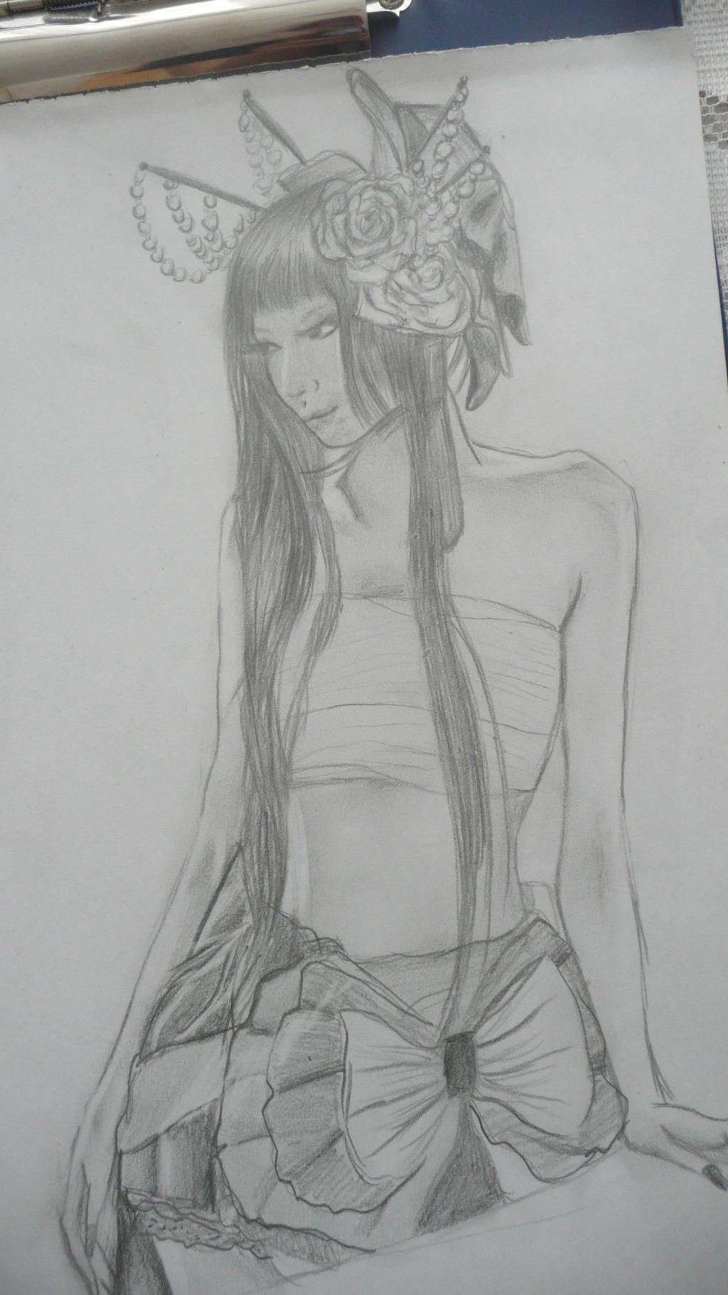 Modern Geisha (Better Quality) by rokusanchan
