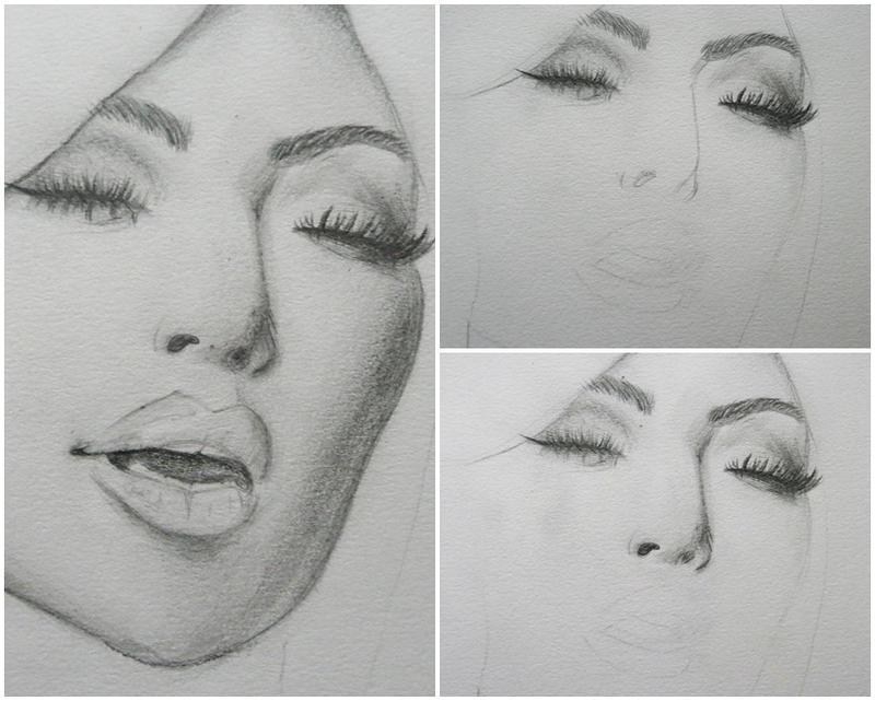 Kim Kardashian (WiP) by rokusanchan