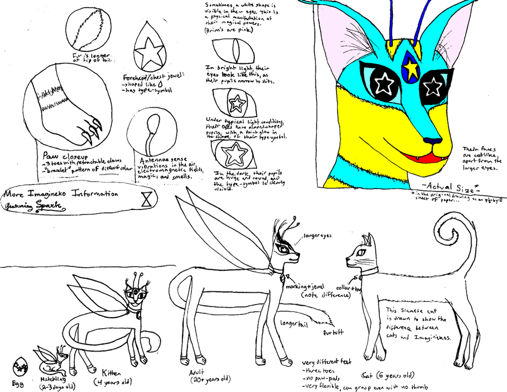 More Imagineko Information, featuring Spark by MajikkanBeingsUnite