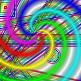 Rainbow Bars gradient download for GIMP by MajikkanBeingsUnite