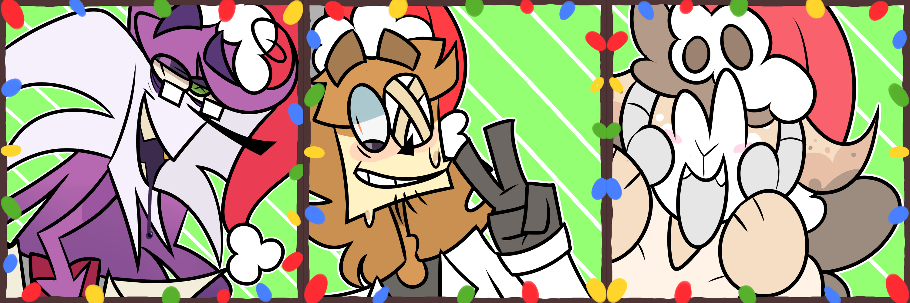 RE-NIGHTMARE CHRISTMAS FREE TO USE ICONS by Sleepykinq