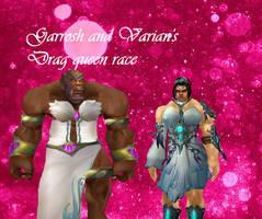 garian azerothian drag queen race by Nightshiftrain