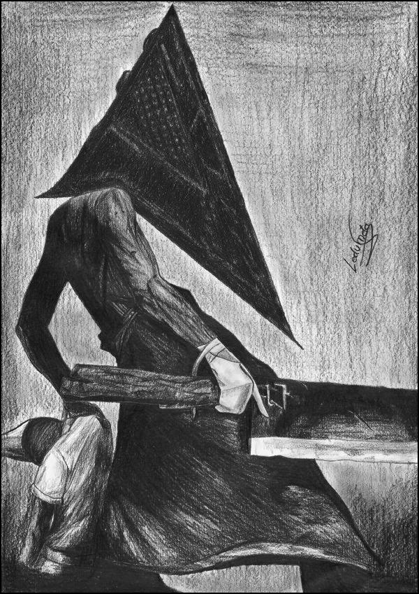 Pyramid Head - 2/2 by LedVampire