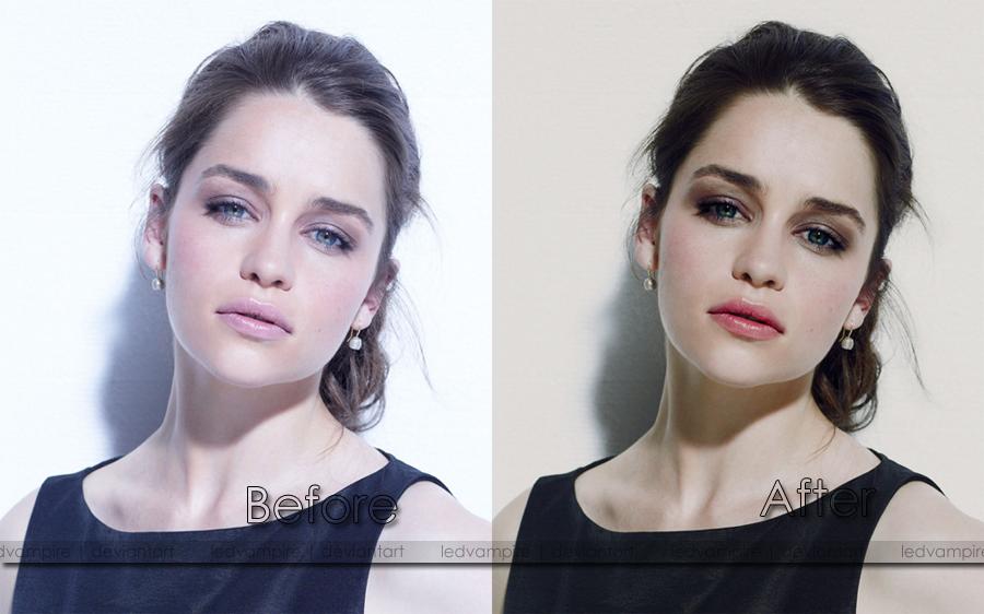 Emilia Clarke by LedVampire