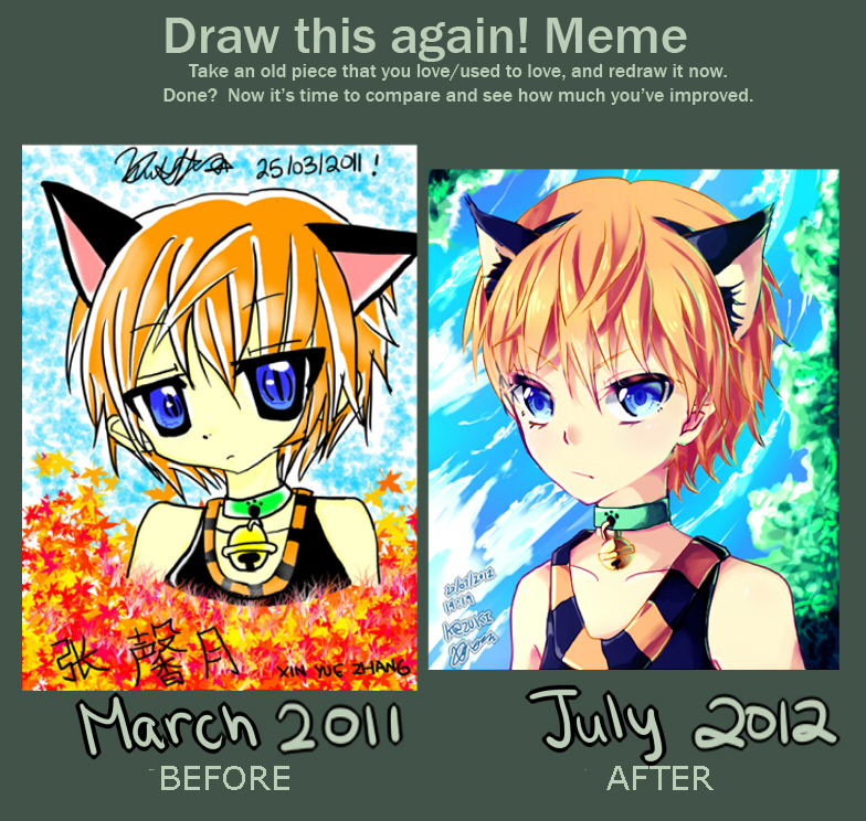 Before and After meme by deaeru