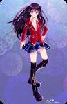 Felutia school uniform girl vers.