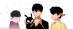 black hair squad