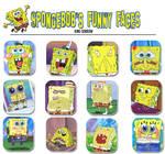 Spongebob's funny faces
