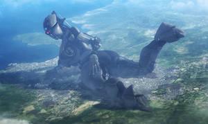 {sfm Giantess} Assaultron 2