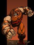 The Juggernaut by Lakcoo2u