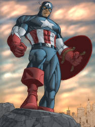 Title: Captain America by Sean by SageHazzard