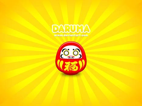 Daruma by aresa