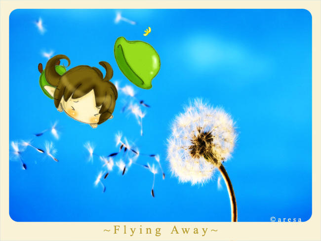 Flying away by aresa