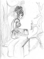 Elven Alchemist by Luna-Iluminis