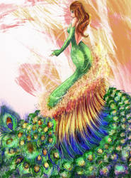 Peacock Killa by Luna-Iluminis