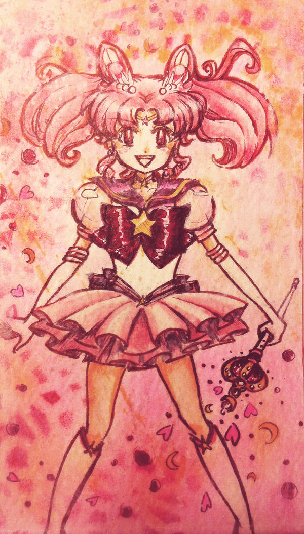 Pink Moon Super Blossoms Colored By Faithess On Deviantart