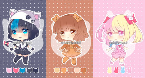 Animal Lover Adoptables [Open2/3] by EsuChii