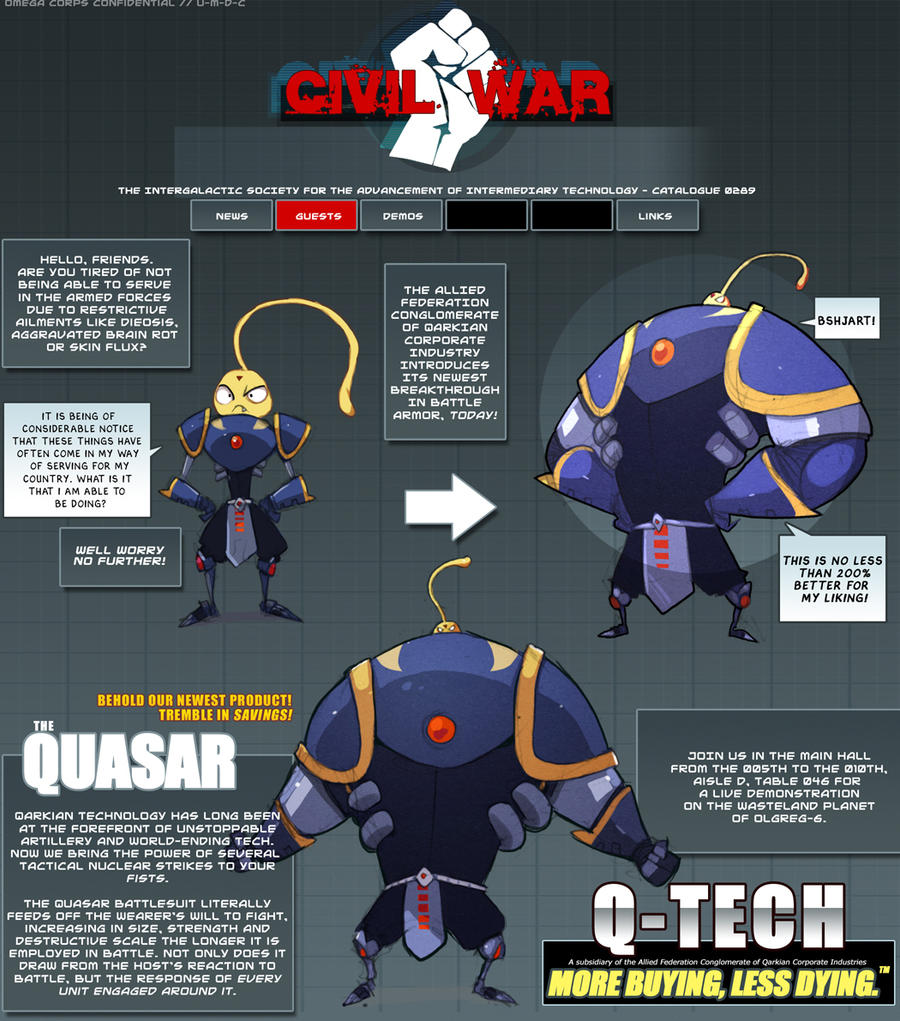 Quark Reference Sheet. by Endling