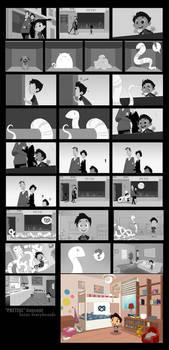 Pretzel Storyboards.