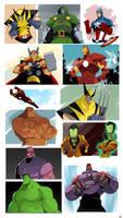 Marvel-ing.