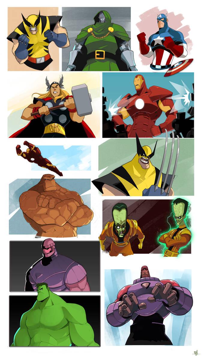 Marvel-ing. by Endling