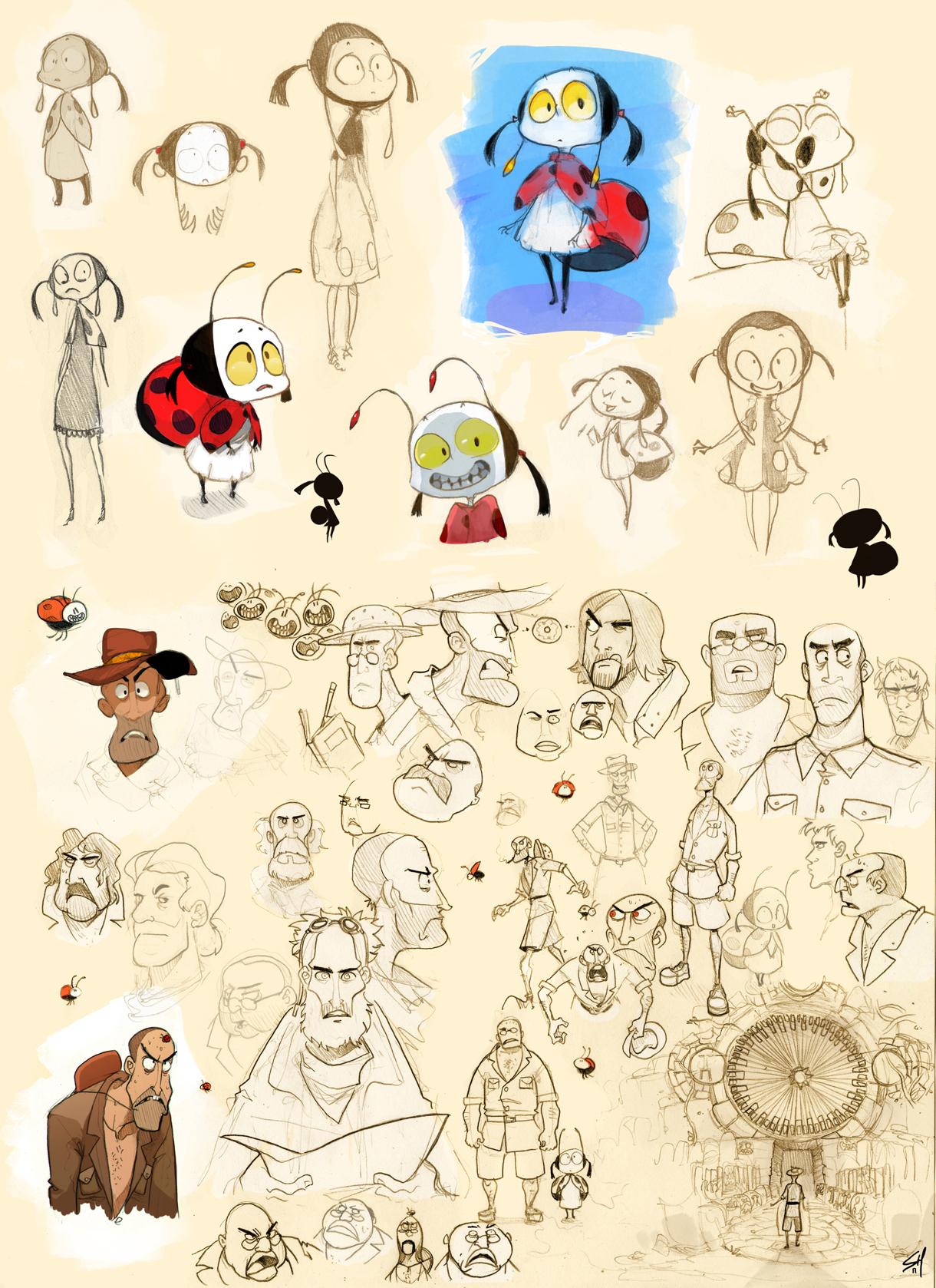 Ladybug and Explorer. by Endling