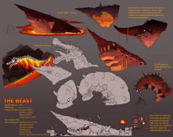 Terraria Boss - The Beast.